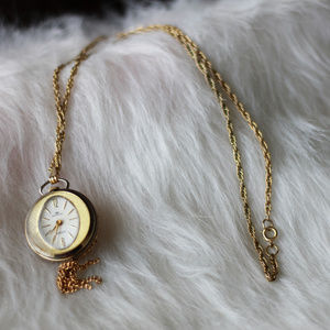 Vintage Watch chain necklace